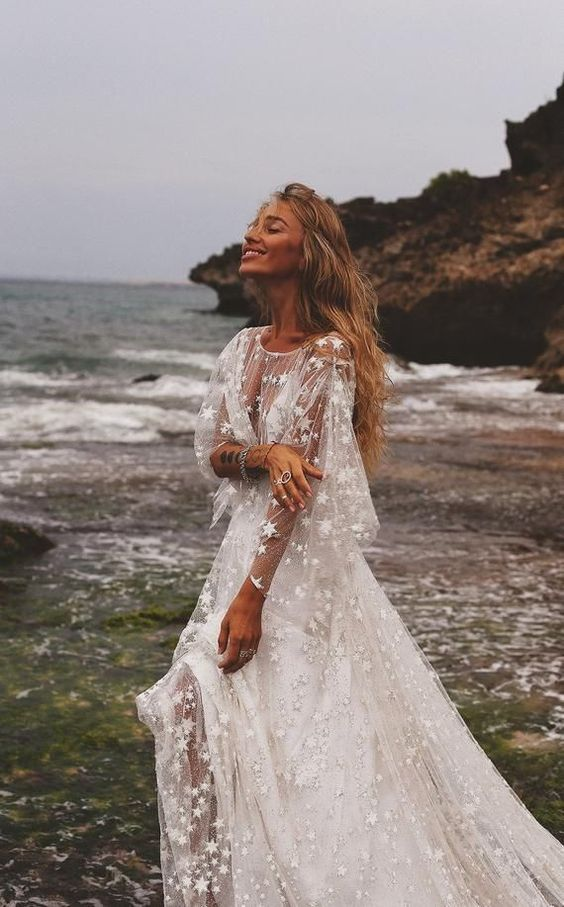 Boho Blush - Boho Wedding Dress