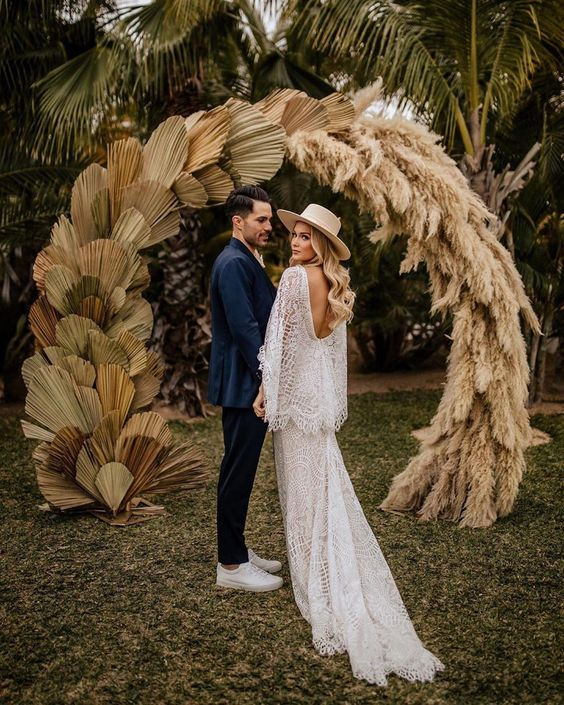 Capim dos Pampas - Casamento Boho
