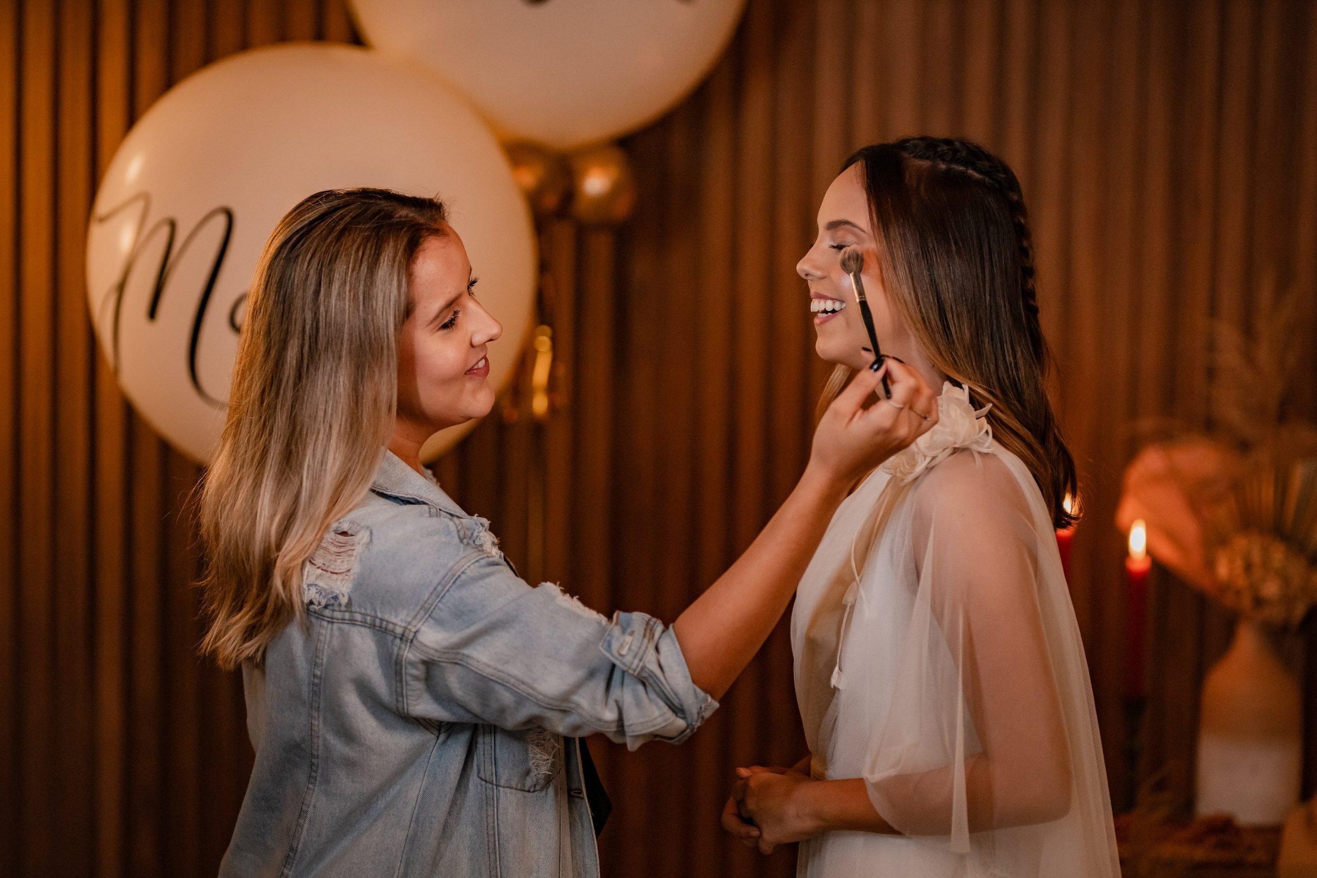 Editorial Noiva - Maquiagem de Noiva
