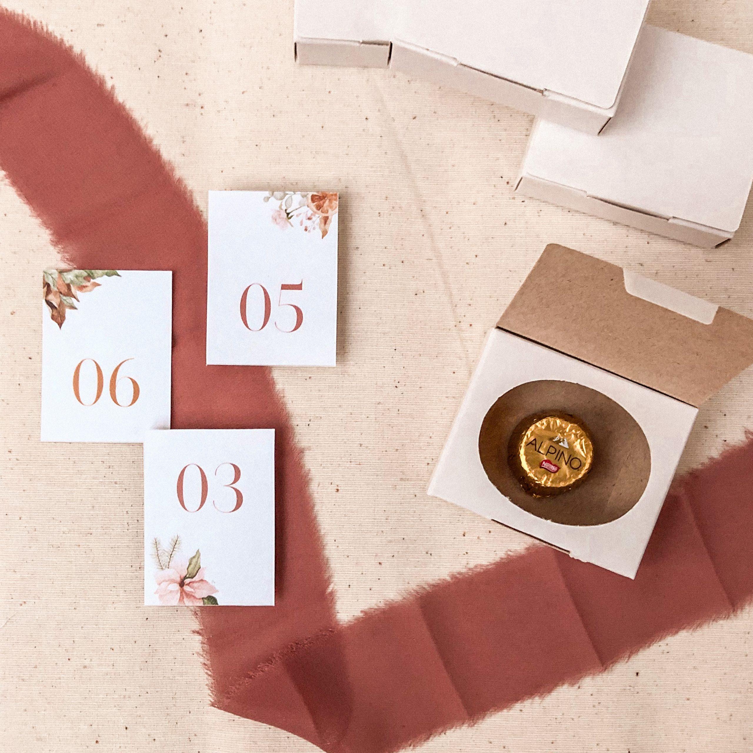 Calendário Doce Espera - Coleção de Natal