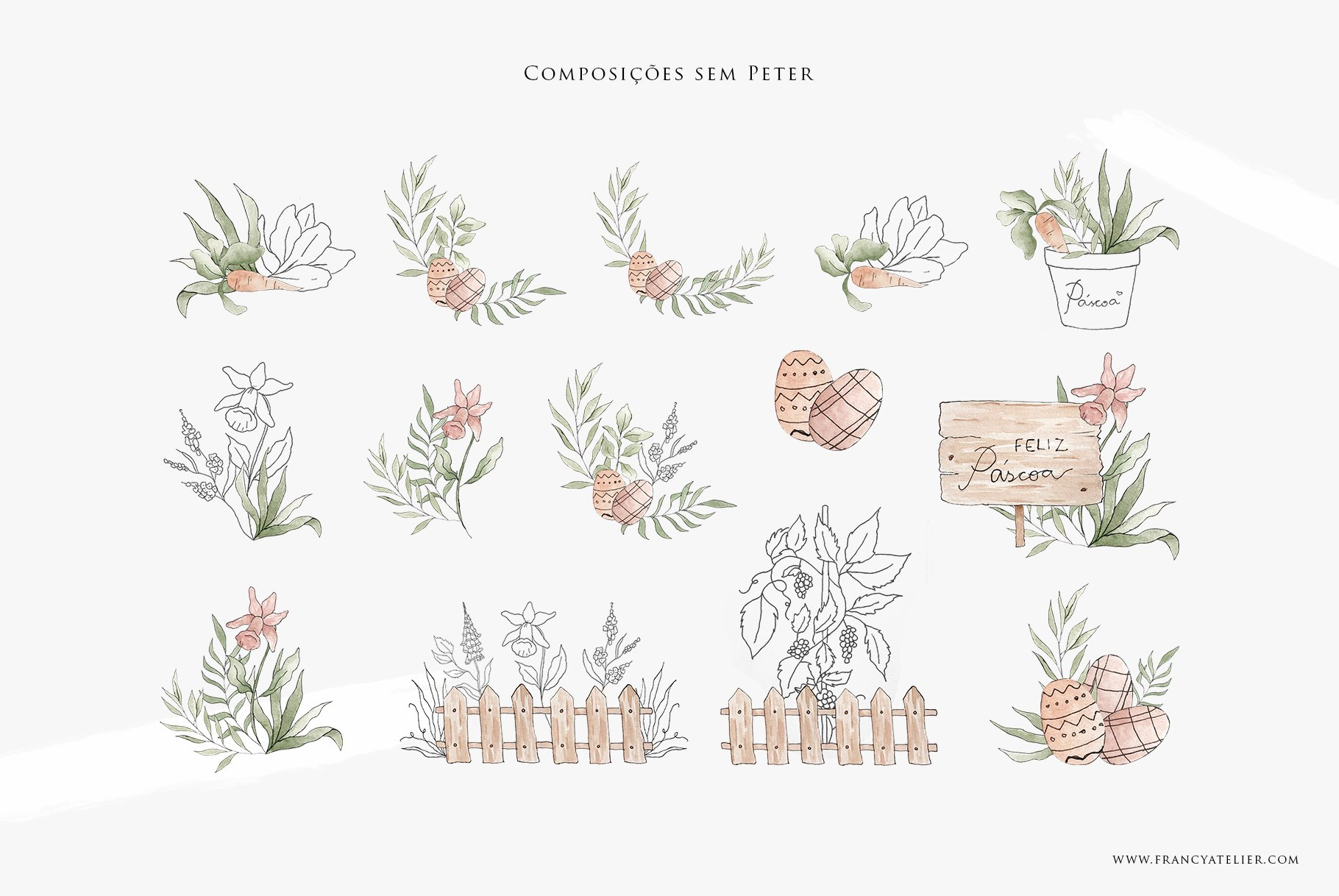 Composições sem Peter