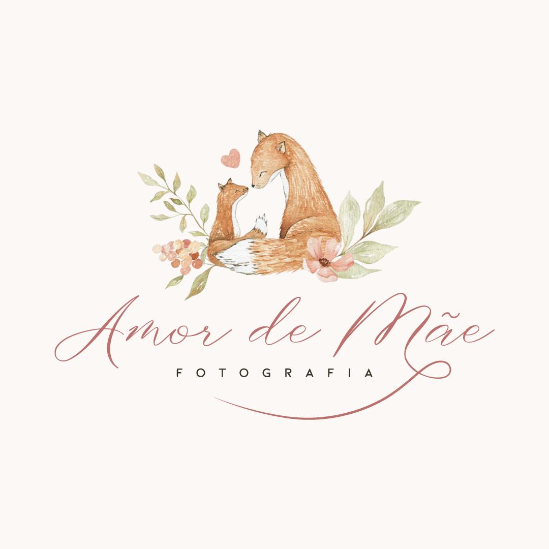 Identidade Visual Empresarial - Amor de Mãe