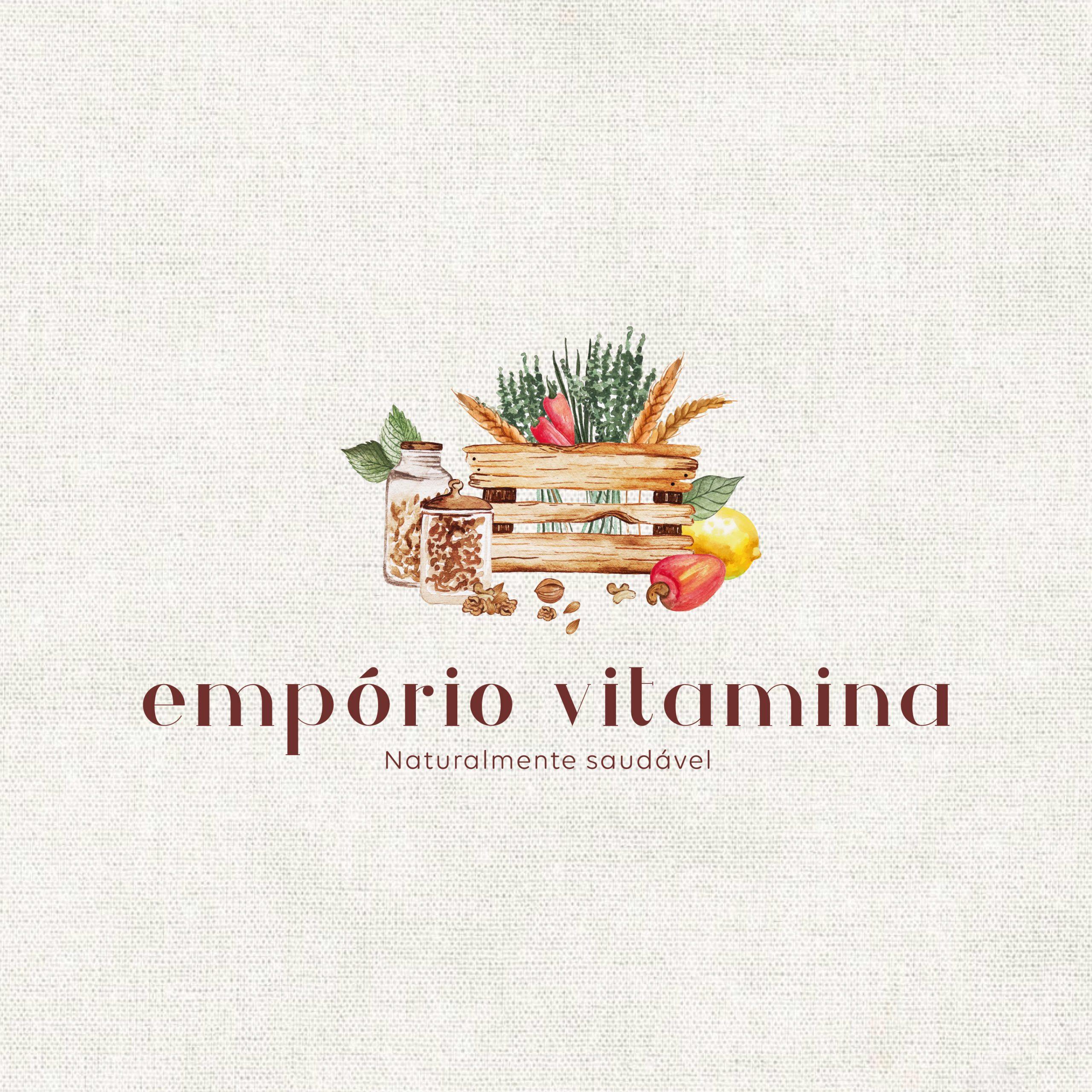 Identidade Visual Empresarial - Empório Vitamina