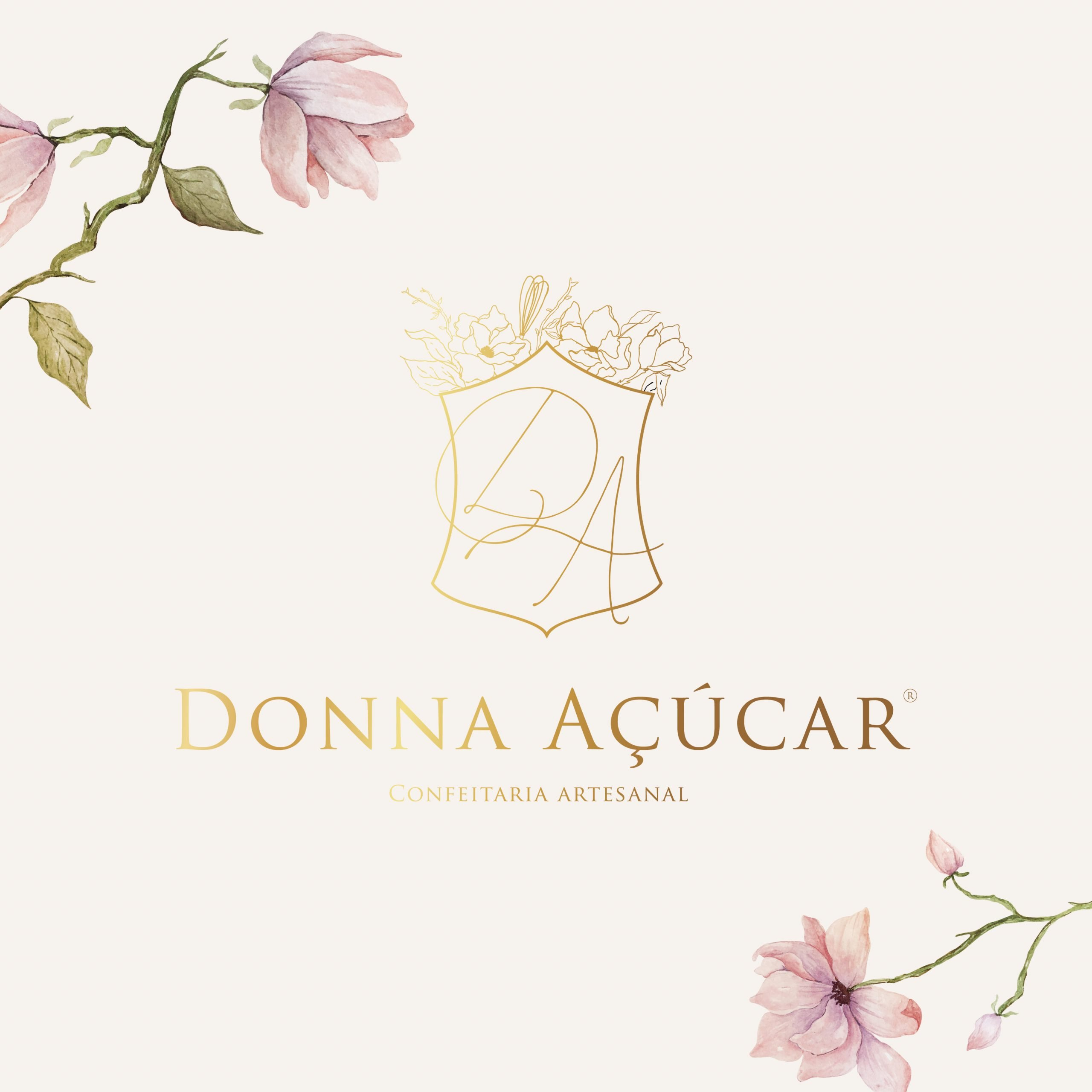 Identidade Visual Empresarial - Donna Açúcar
