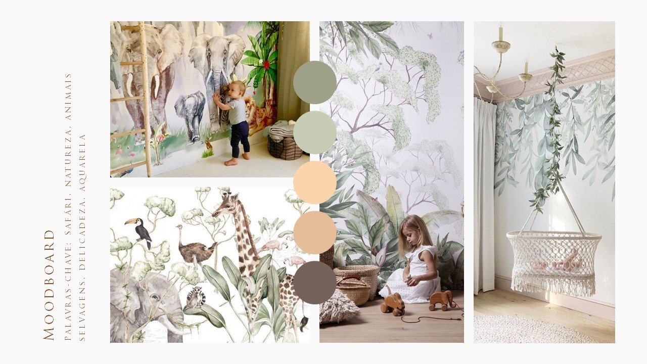 Moodboard Mural Safari